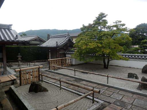 光明寺の庭