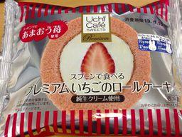 プレミアムいちごのロールケーキ