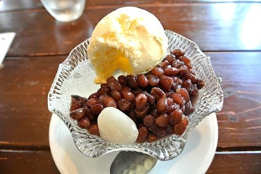 冷やしクリームみつ豆
