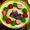 いちごとピスタチオのレアチーズケーキ