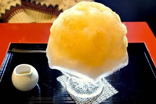 信州りんごのかき氷