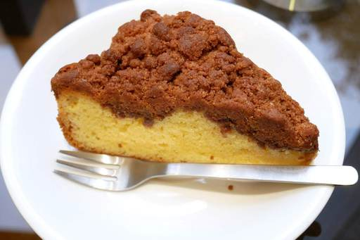 シナモンクランブルケーキ
