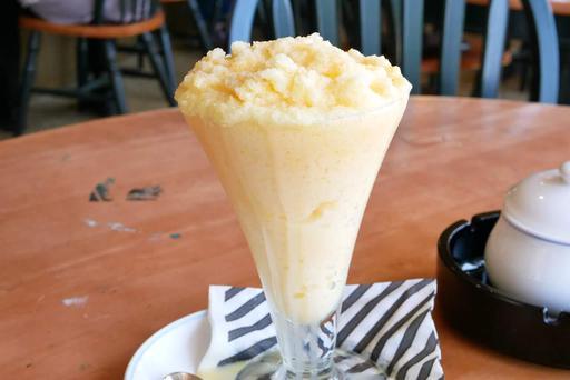 ミルクセーキかき氷