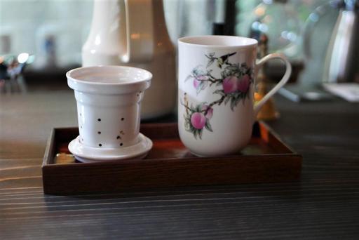 桂花プーアル茶